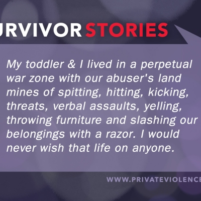 Survivor Stories Series, Private Violence