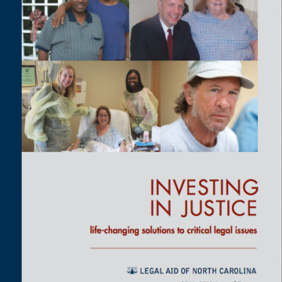 Annual Report, Legal Aid of North Carolina. (Design by www.archetype-usa.com) https://janeengingrich.files.wordpress.com/2018/03/annual-report-2011-12-for-web.pdf